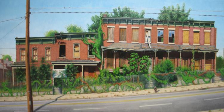 Abandoned Row Houses, Richmond, Virginia