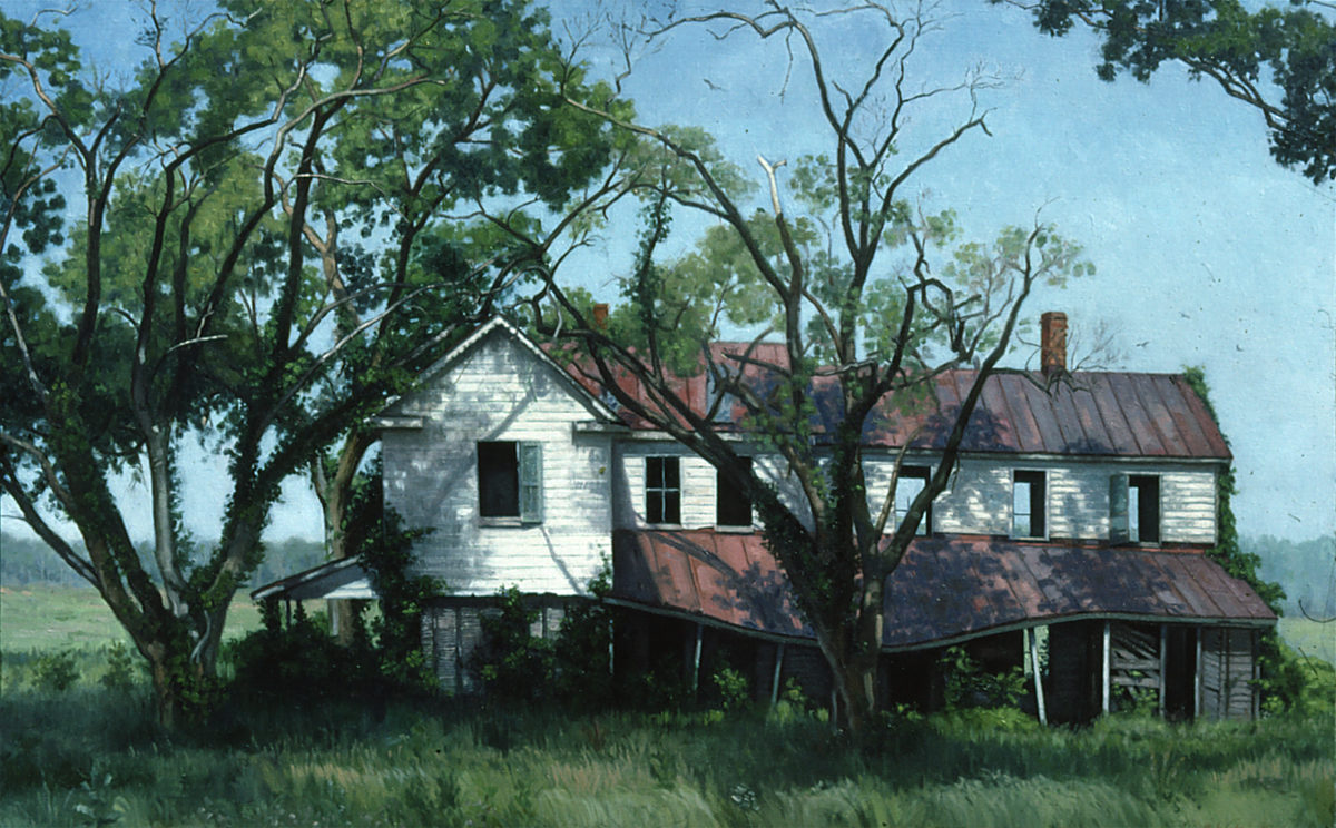 Abandoned House, Edwardsville, Virginia