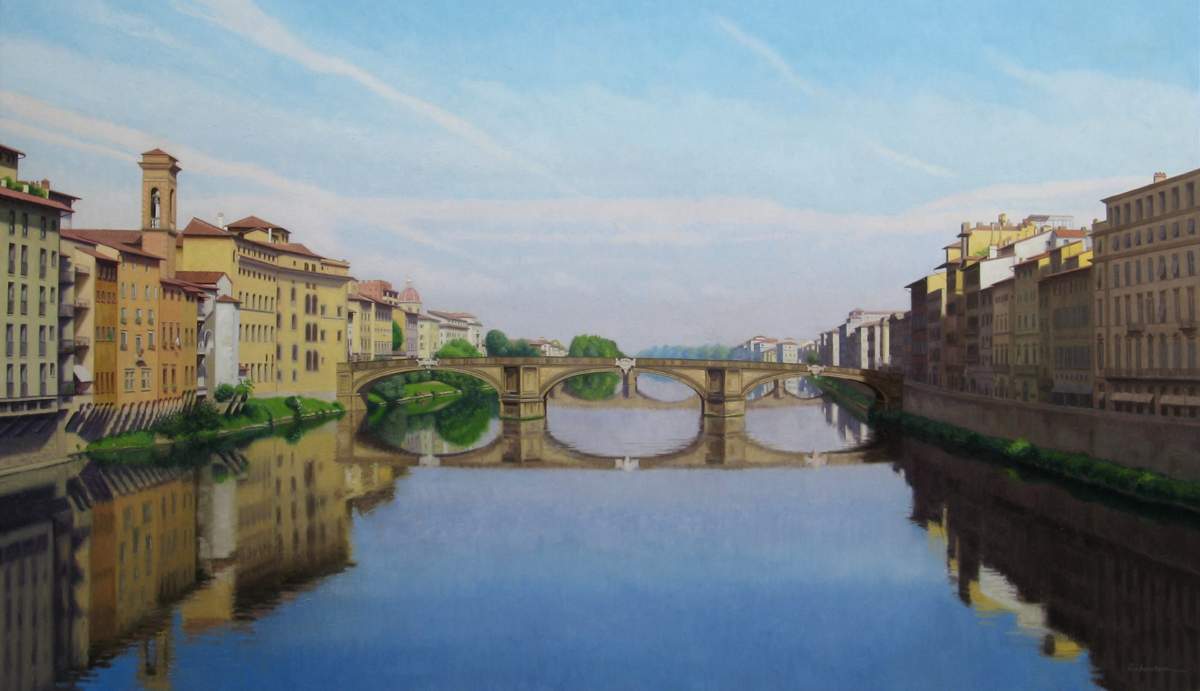 View of the Arno
