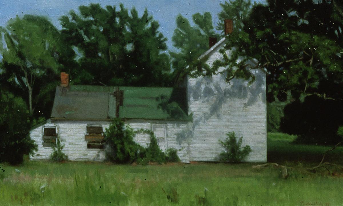 Abandoned House, Irvington, Virginia